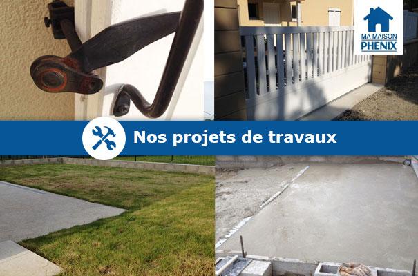 Projets travaux Maison Phénix