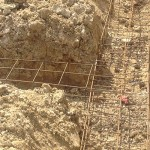 Photos / Vidéo : ferraillage des fondations