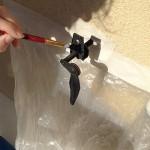 Travaux extérieurs : peinture des ferrailles métalliques