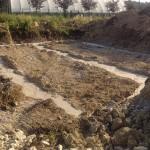 Photos / vidéo : Le coulage des fondations