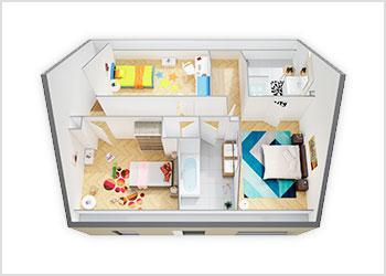Plans Maisons Phénix avec combles