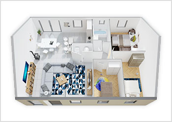Plans Maisons Phénix plain-pied