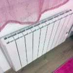 Travaux intérieurs : changement d'un radiateur de chambre